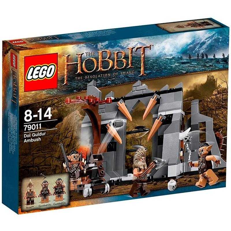 lego hobbit emboscada 79011