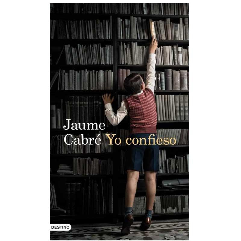llibre libro YO CONFIESO. Jaume Cabré. 9788423345083
